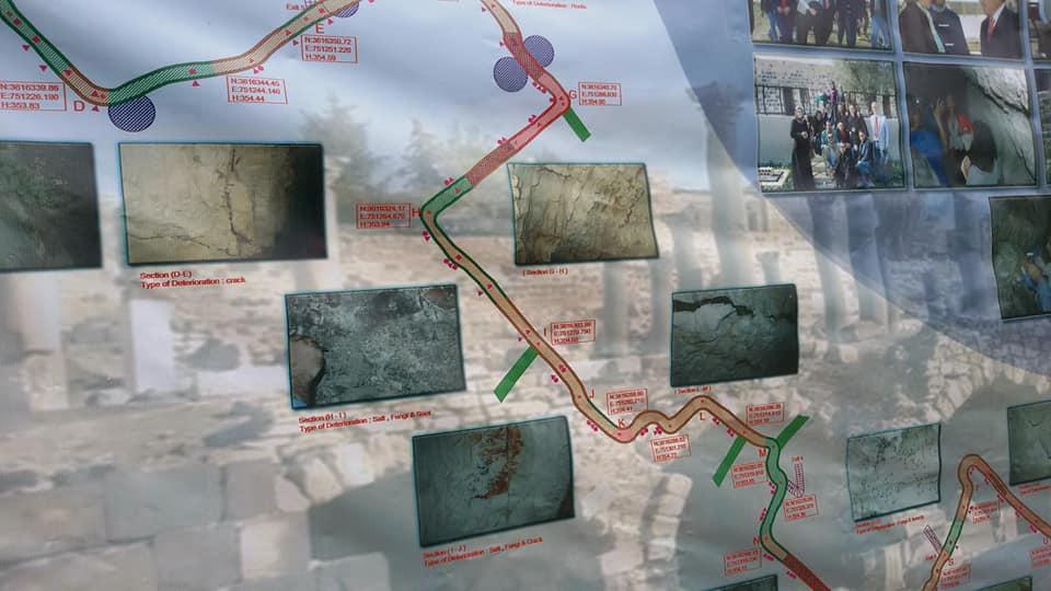 افتتاح أطول نفق مائي اثري  في مدينة جدارا – ام قيس بشمال الأردن