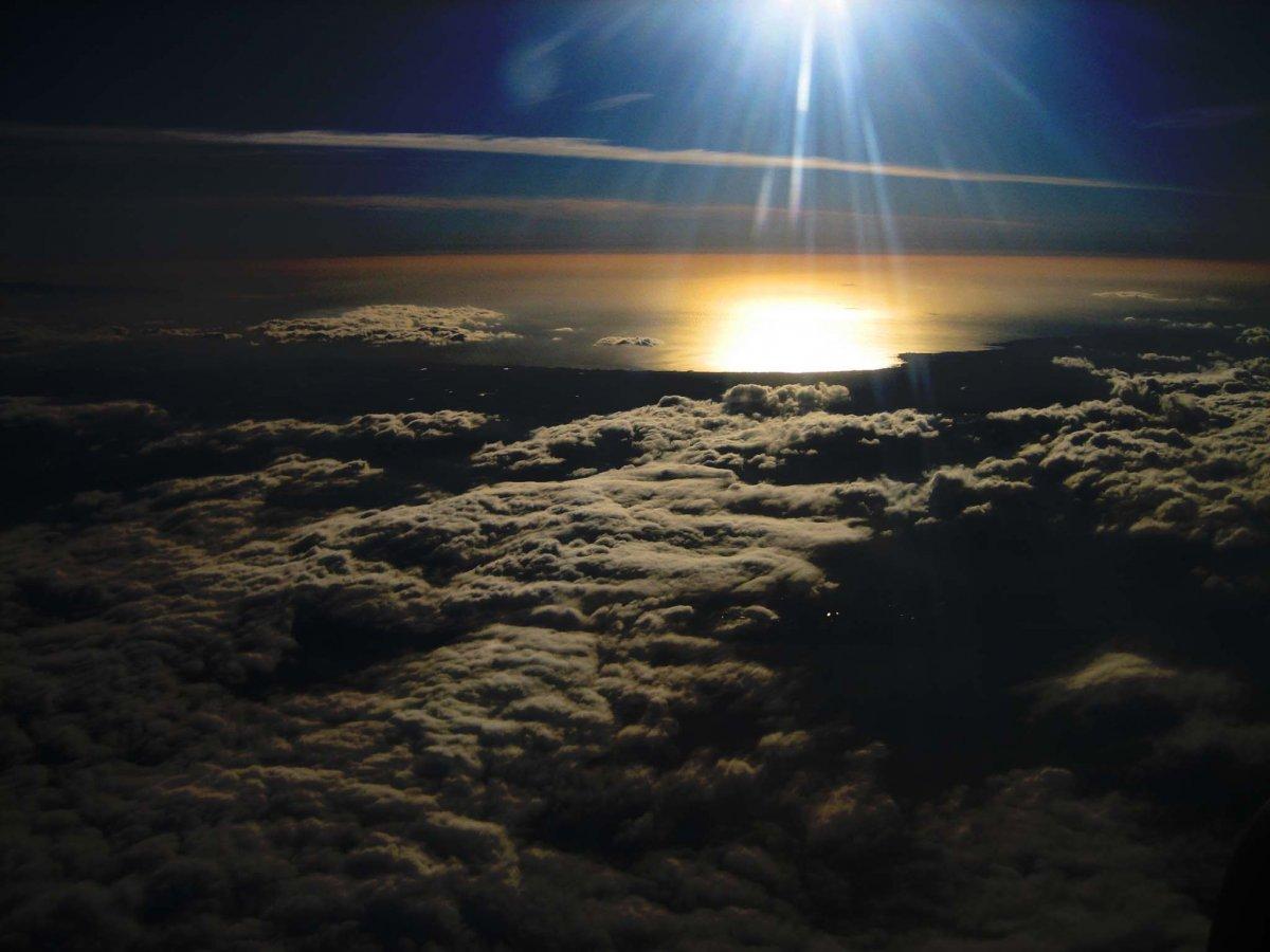 صور من نافذة الطائرة 10