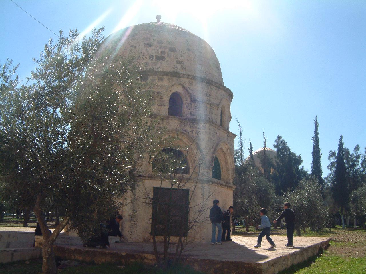 مصلى البراق وهو جزء من المسجد الأقصى