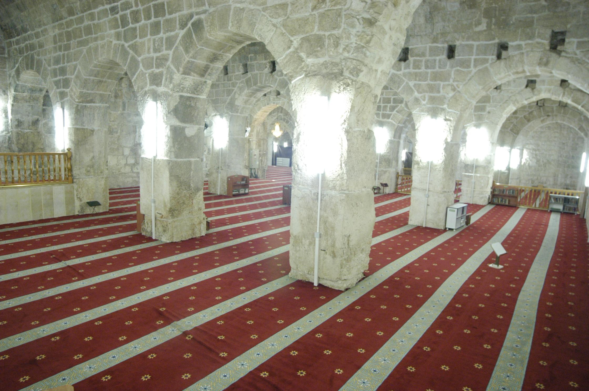 المصلى المرواني وهو جزء من المسجد الأقصى