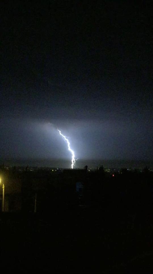 البرق في تلاع العلي - عمان