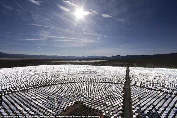 الخلايا الشمسة تعمل على رفع الحرارة بالمنطقة المحيطة إلى أكثر من 500 درجة مئوية