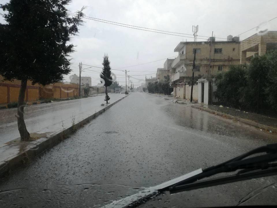 من أمطار اربد .. تصوير تصوير عبد الله نشوان