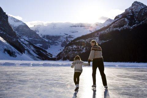 شاهد أبرز حلبات الجليد الطبيعية للتزلج في العالم