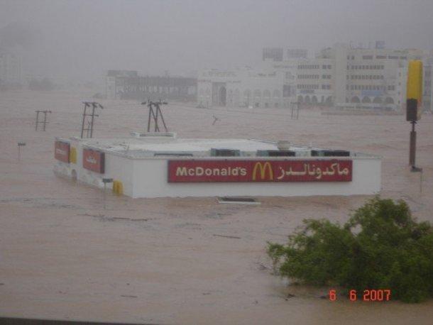 هذا الإعصار الذي ضرب سلطنة عُمان في الثالث من حزيران من العام 2007