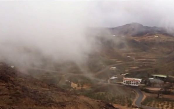 بالفيديو أجواء أوروبية تعيشها قرية الفقرة التابعة للمدينة المنورة طقس العرب طقس العرب