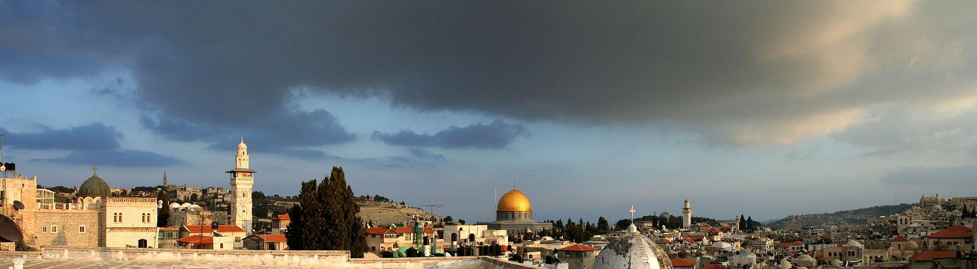 مشهد عام لمدينة القدس