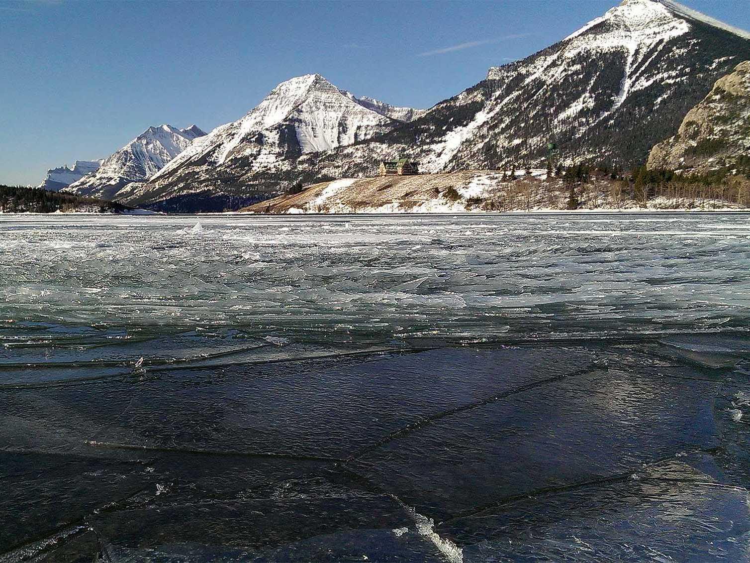 الحديقة الوطنية الجليدية: شمال مونتانا- أمريكا