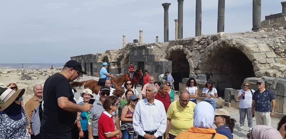 المركز المجتمعي المسكوني ينظم رحله إلى شمال الأردن بمشاركه حوالي 70 مشارك