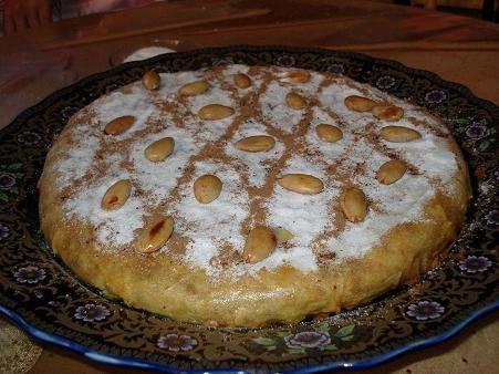 البسليطة: طعام تقليدي في المغرب يقدم على الغداء