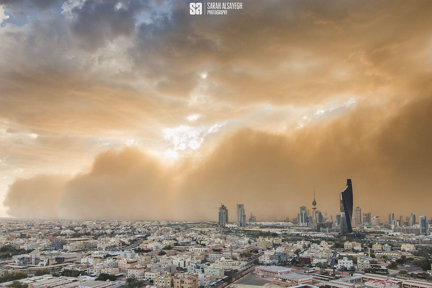 غبار الكويت - تصوير سارة الصايغ