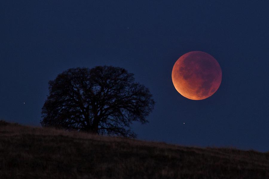 هل النظر لخسوف القمر آمن؟