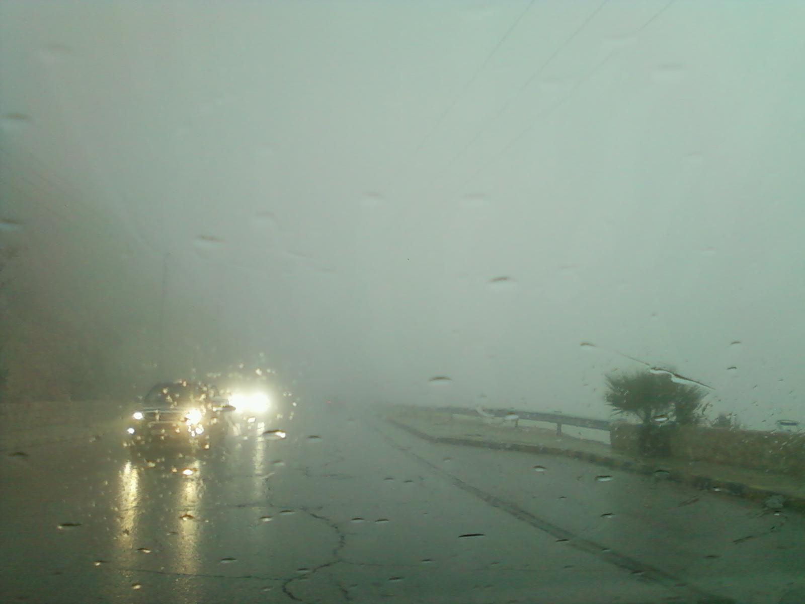 أمطار الخير في قضاء ايل