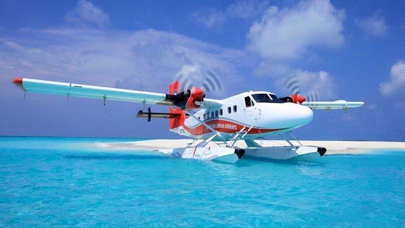 الطائرات المائية المالديف