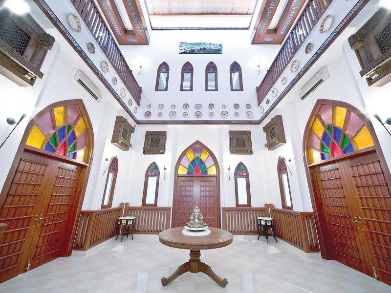اماكن سياحية في مسقط ، بيت الزبير
