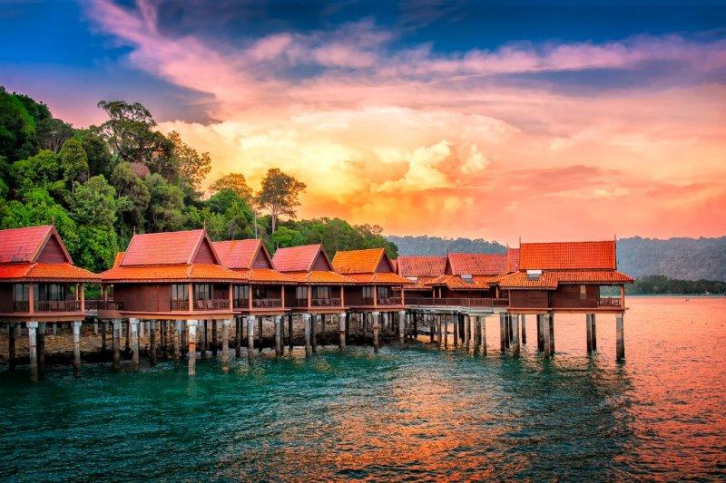 الفنادق في لنكاوي ، ماليزيا