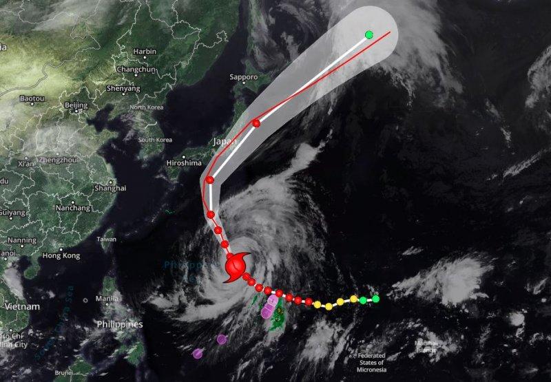 إعصار HAGIBIS .. أقوى الأعاصير في شدة التدمير