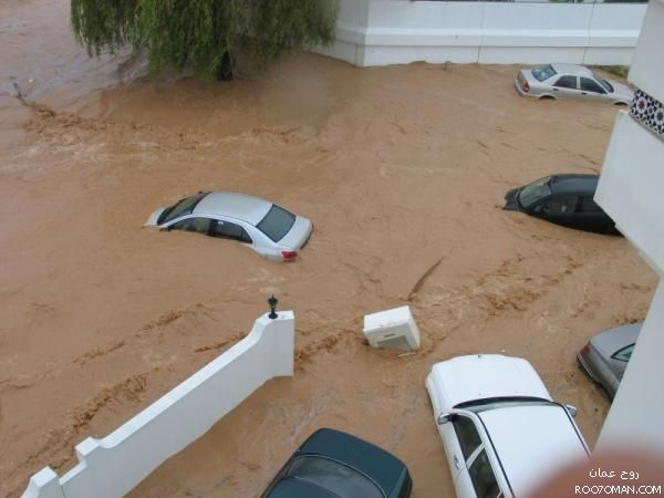 من أقوى الكوارث التي ضربت الوطن العربي: اعصار جونو 2007 – شاهد الصور